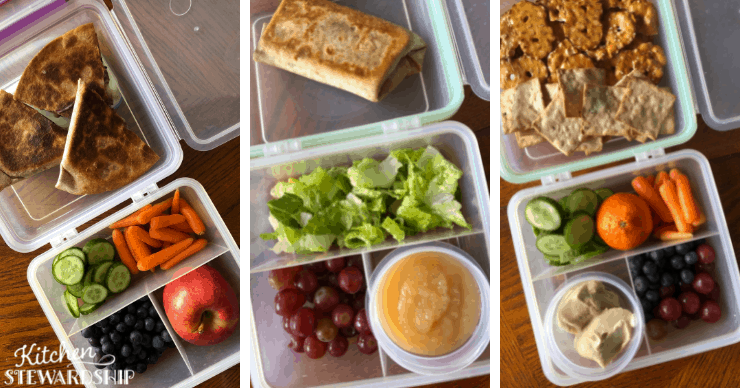 Plant based lunches for kids