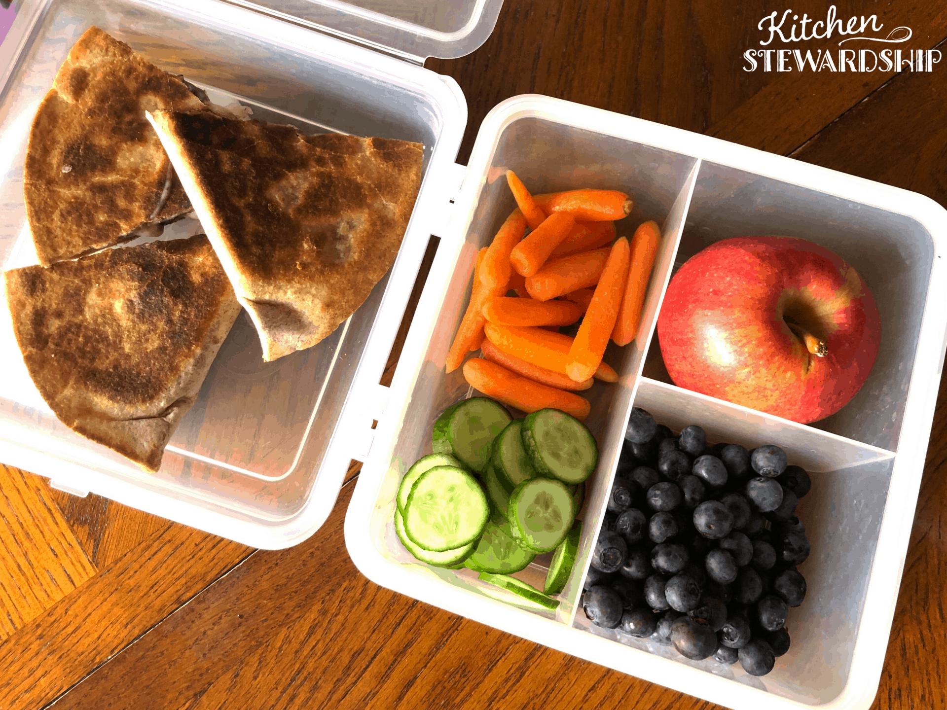 plant-based school lunch