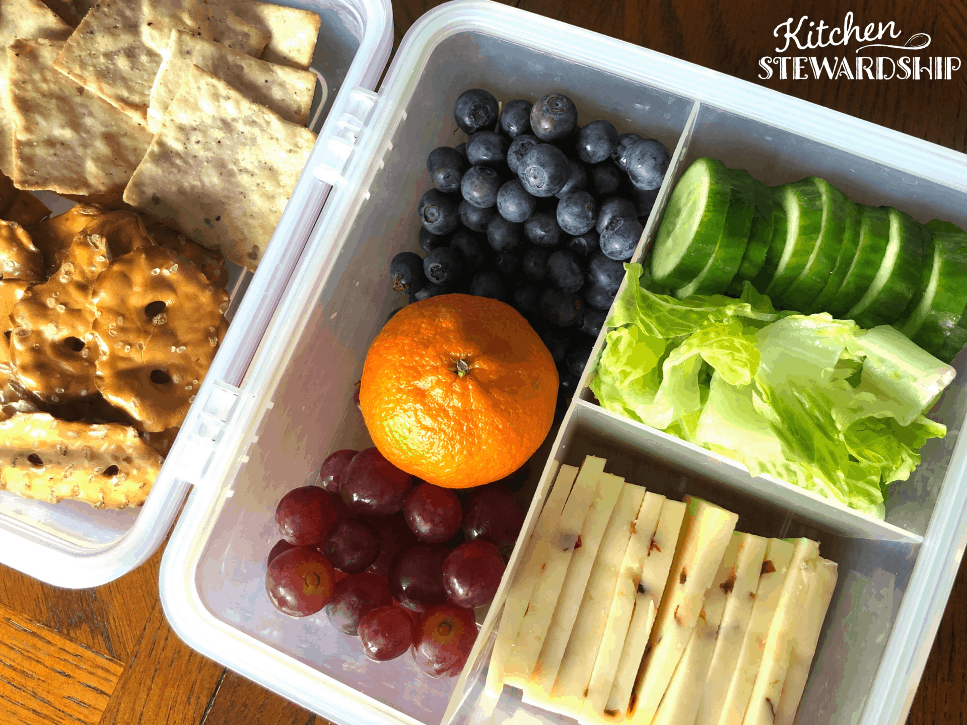 plant-based lunch for kids