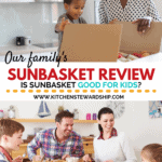 Our family's Sunbasket review