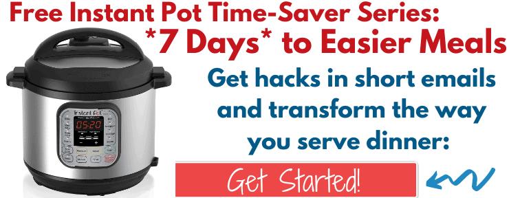 Instant Pot Time Saver Series