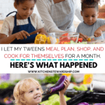 teaching meal planning for kids