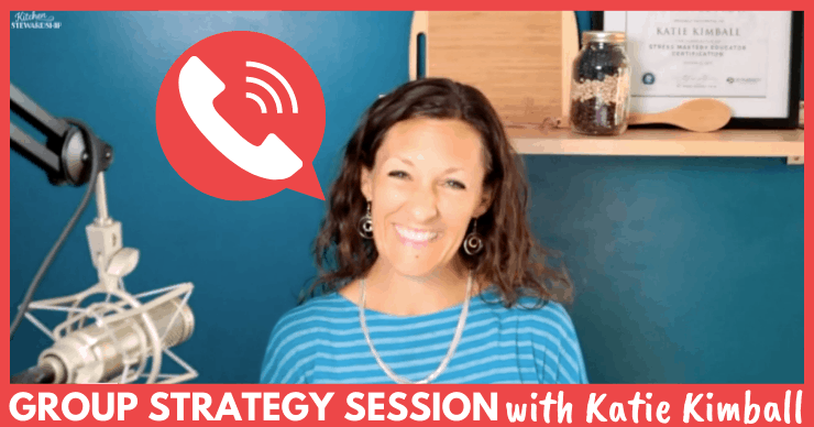 Group Coaching Call Strategy Session with Katie Kimball!