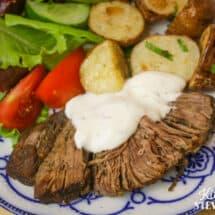 Instant Pot Beef Roast Recipe Greek-Style