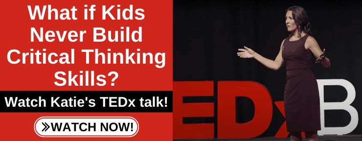 TEDx What if Kids Never Learn Critical Thinking Skills?